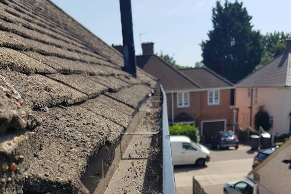 Gutter Cleaning - Customer in Ilford